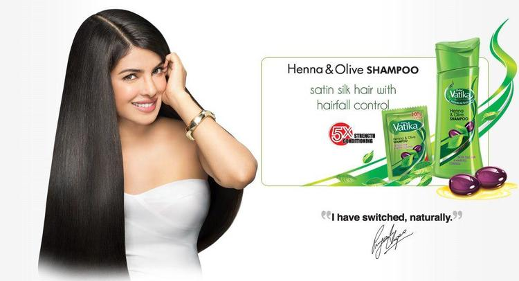 Priyanka Chopra Photo Shoot For Dabur Vatika Ad