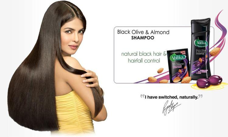 Priyanka Chopras Ad For Vatika Almond Hair Oil And Sampoo