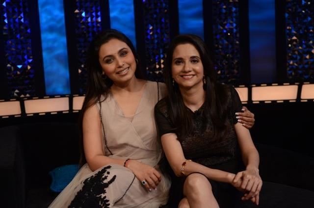 Rani and Anupama Pose During The Front Row
