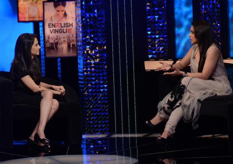 Rani Interview on The Front Row with Anupama Chopra