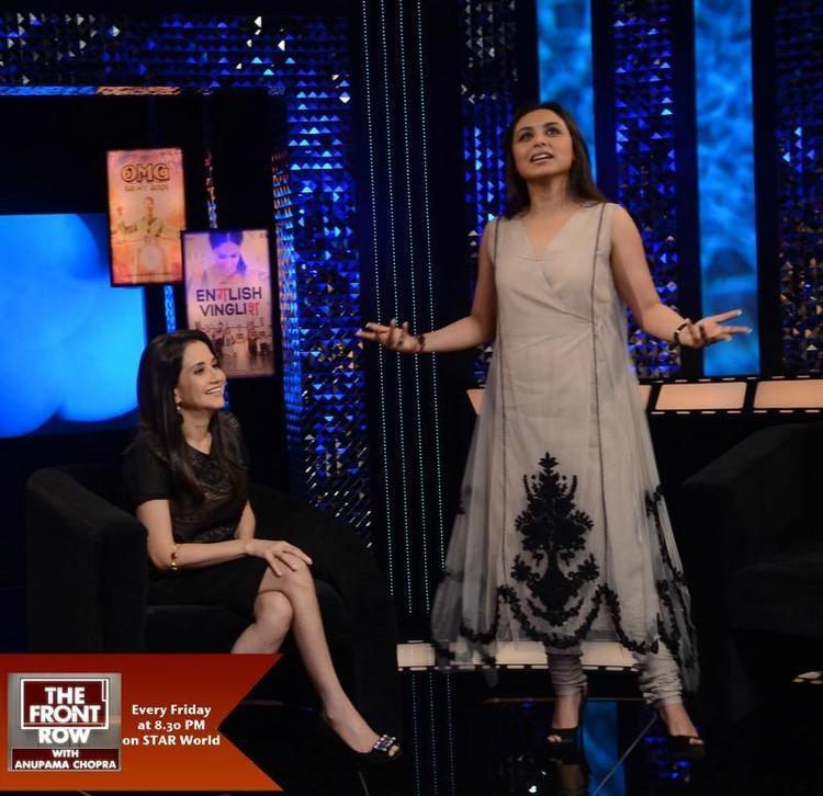 Rani Mukherjee Chats with Anupama Chopra On The Front Row