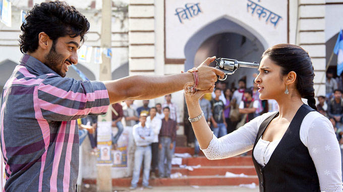 Arjun Kapoor And Parineeti Chopra A Still From Movie Ishaqzaade