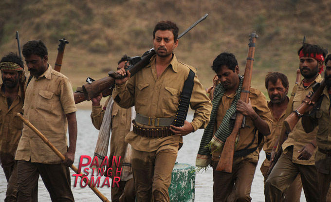 Irrfan Khan A Still From Paan Singh Tomar