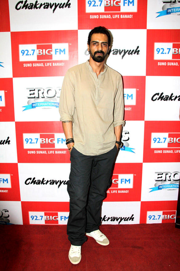 Arjun In Chakravyuh Audio Launch Event At 92.7 FM