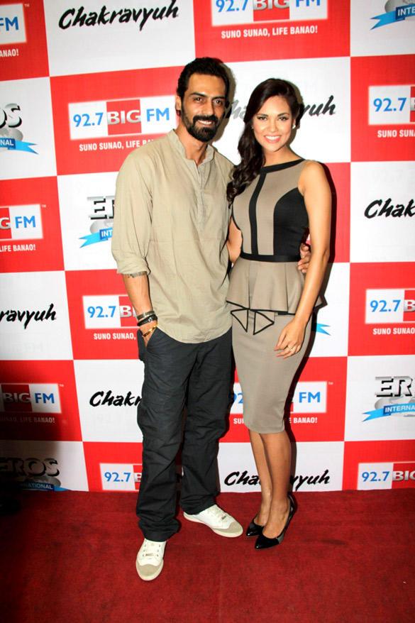 Arjun Rampal And Esha Gupta At The Music Launch Of Chakravyuh