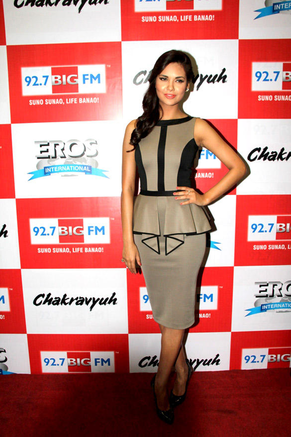 Esha Gupta In Chakravyuh Audio Launch Event At 92.7 Big FM
