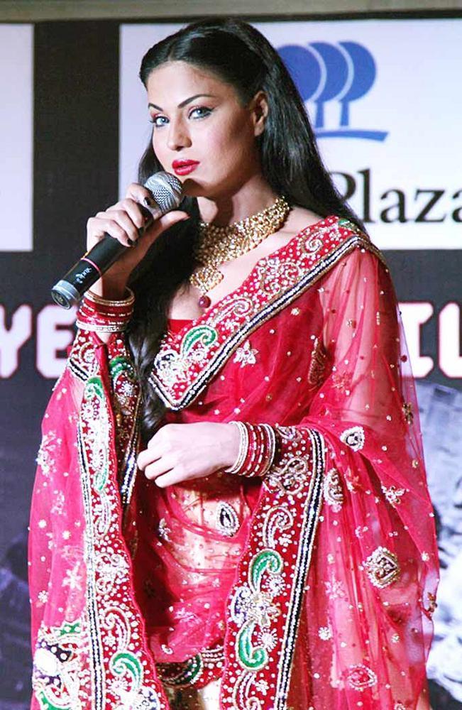 Veena Malik at The Launch Of Drama Queen Album