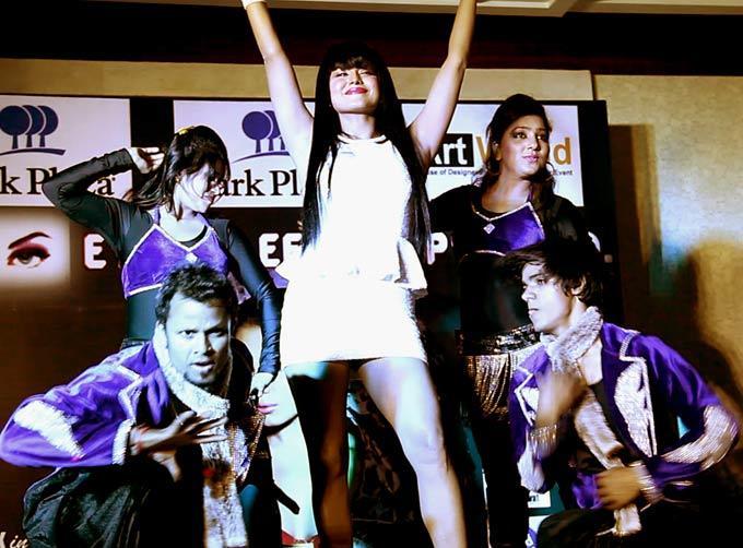 Veena Malik Shocks at Album Launch
