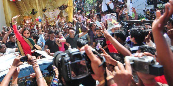 Hot Rani Mukherjee Promote Aiyyaa With Nagpur People