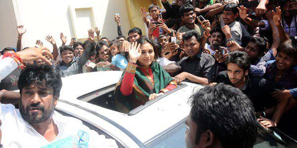 Rani Mukherjee Promote Her Upcoming Film Aiyyaa at Nagpur