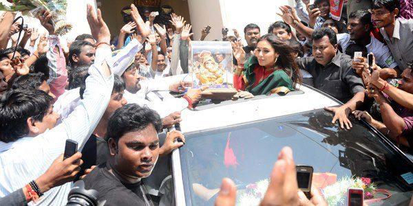 Rani Mukherjee Promote Her Upcoming Movie Aiyyaa at Nagpur