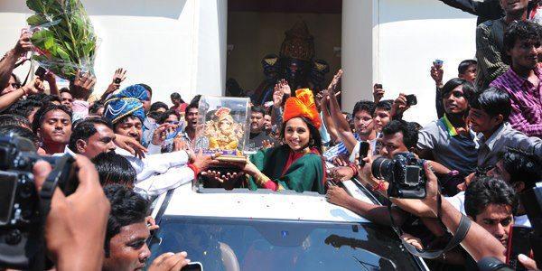 Rani Mukherjee at The Promotional Event Of Aiyyaa at Nagpur