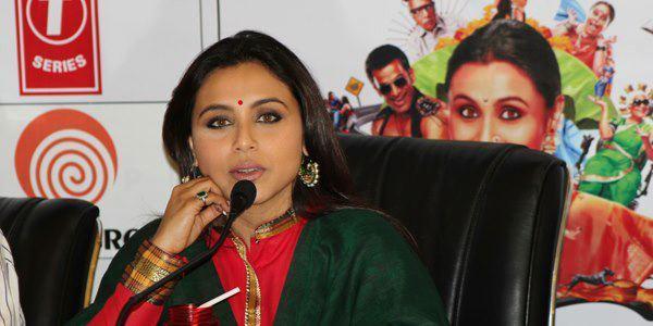 Rani Mukherjee Talks About Her Upcoming Movie Aiyyaa