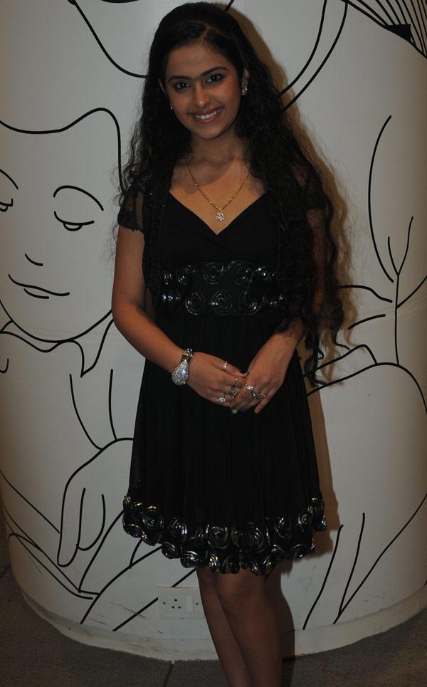 Avika Gor In Black Dress Nice Pic