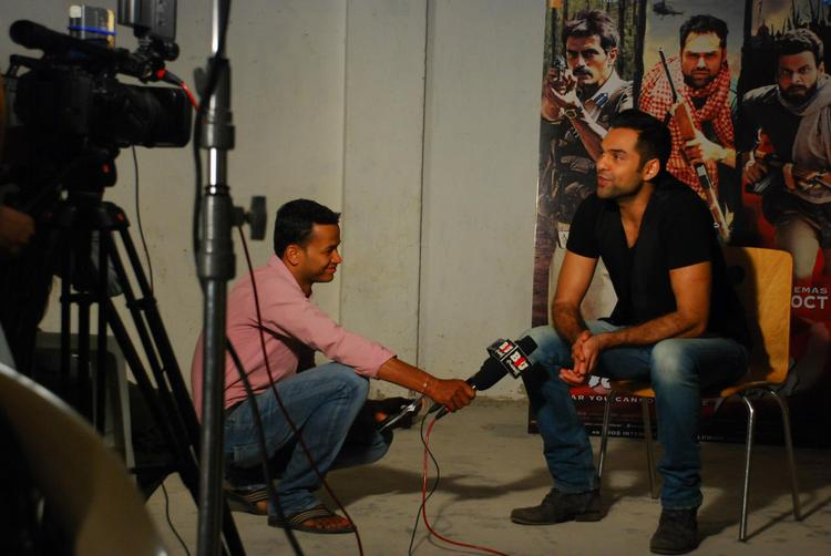 Abhay Deol During Mehboob Studio For Music Interview Of Chakravyuh