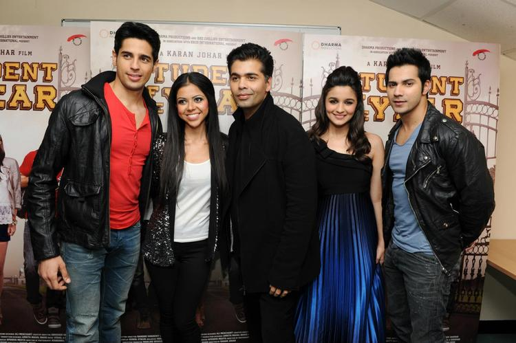 Exclusive Pics Of SOTY Teams At London
