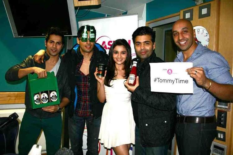 Karan And SOTY Star Cast With Tommy Sandhu At London