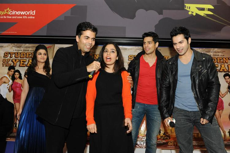 Soty Team On Stage With A Fan At London
