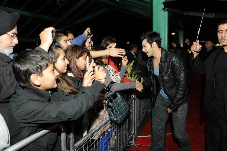 Varun Dhawan Meet Her Fans At London