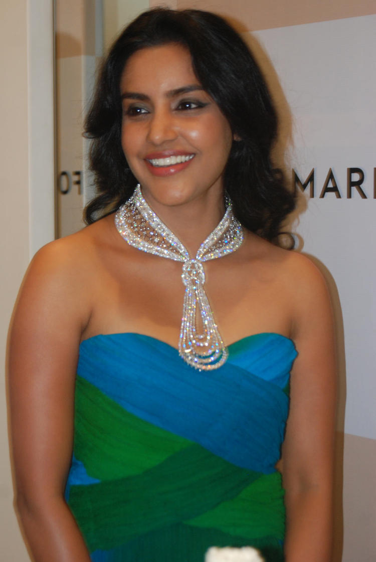 Actress Priya Anand at Forevermark Promise Exhibition
