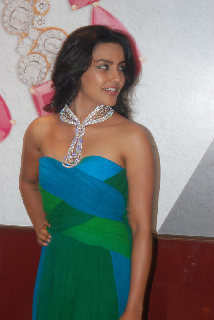 Priya Anand Pose To Photo Shoot  at Forevermark Jewellery Store
