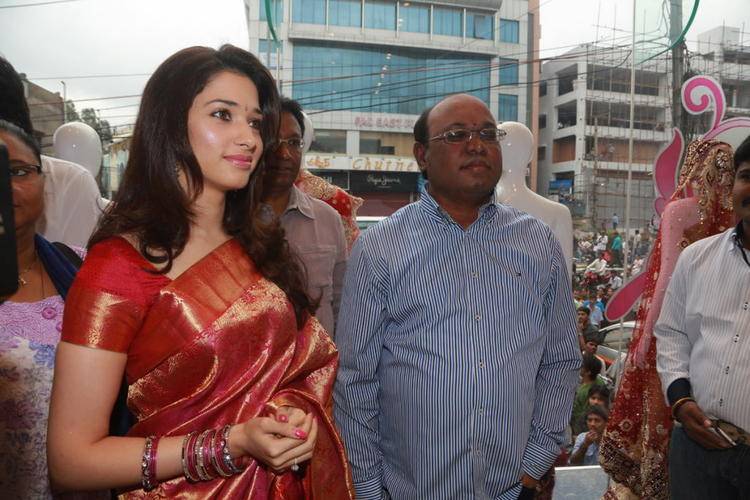 Exclusive Tamanna Launches Womens World Show Room Stills