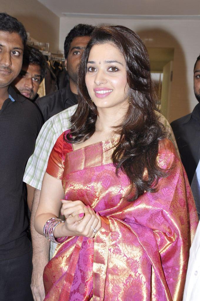 Hot Heroine Tamanna Sizzles At Showroom Launch