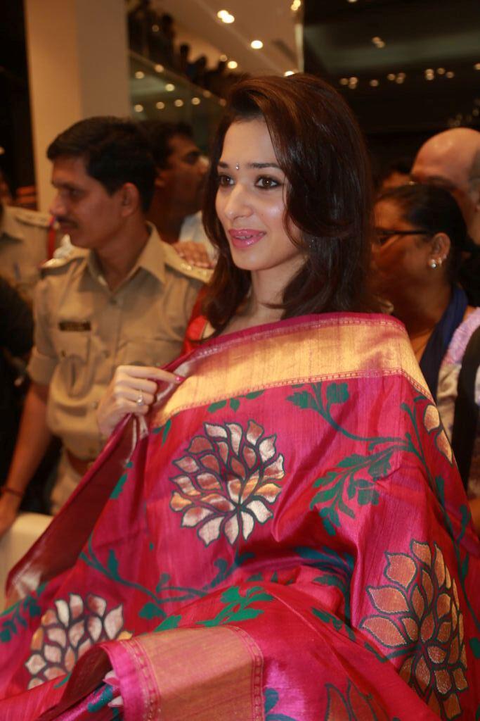 Tamanna Beautiful Still At Womens World Showroom Launch