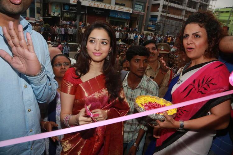 Tamanna Inaugurates Womens World Showroom