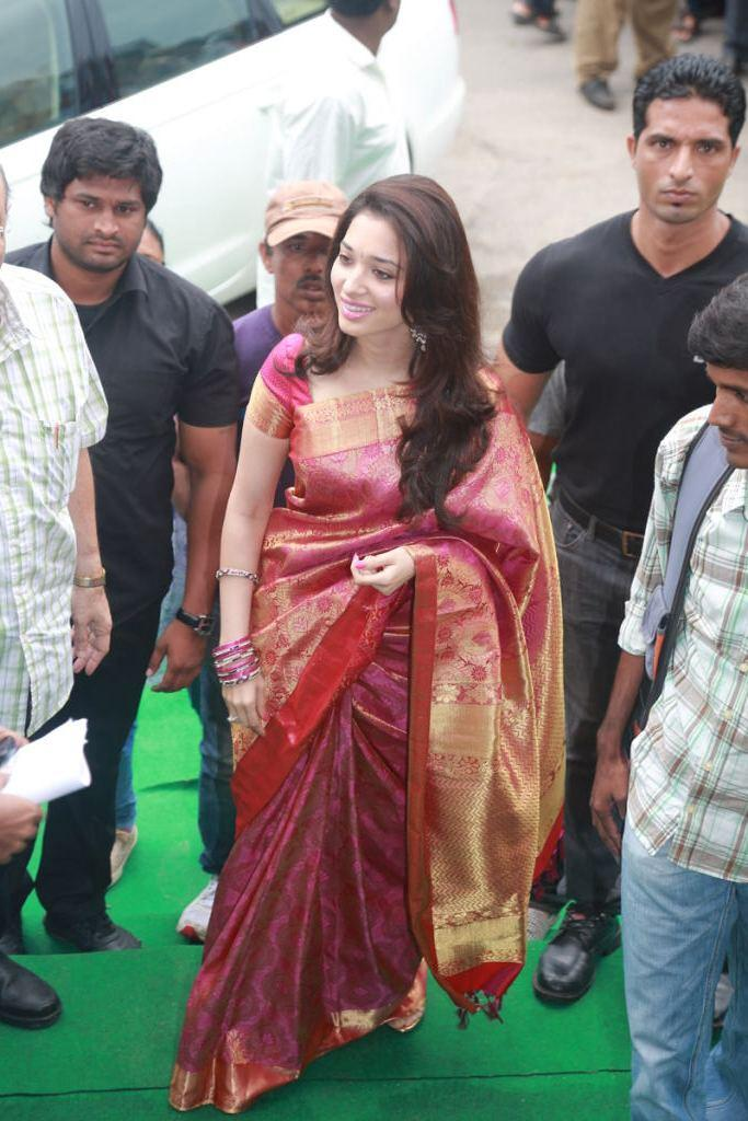 Tamanna Launches Womens World Showroom At Hyderabad