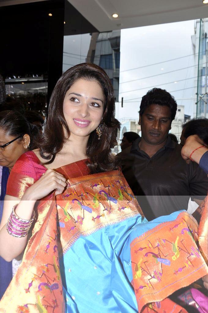 Telugu Actress Tamanna Launches Womens World Showroom At Himayat