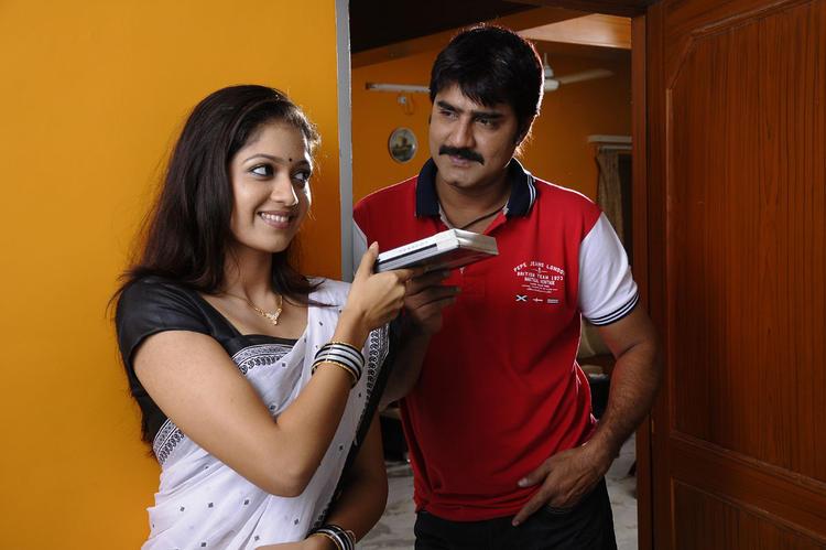 Meka Srikanth and Meghana Raj Nice Pic From Lucky Movie