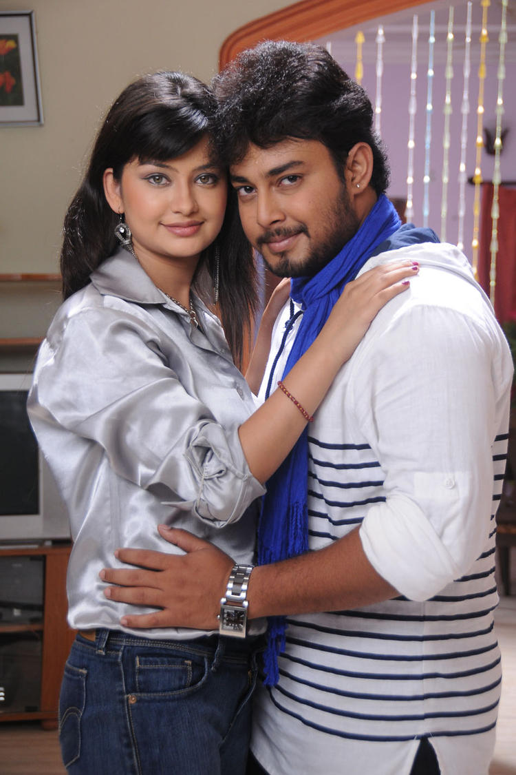 Tanish And Sana Offscreen Romance Pic From Devdas Style Marchadu Movie