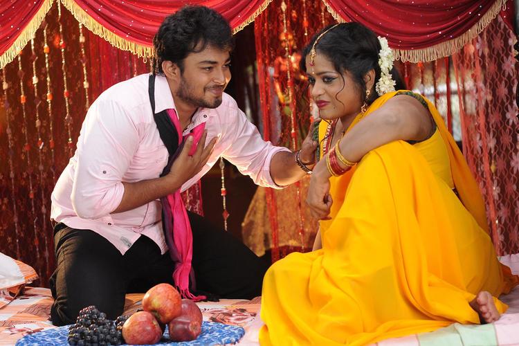 Tanish And Sana A Still From Telugu Movie Devdas Style Marchadu