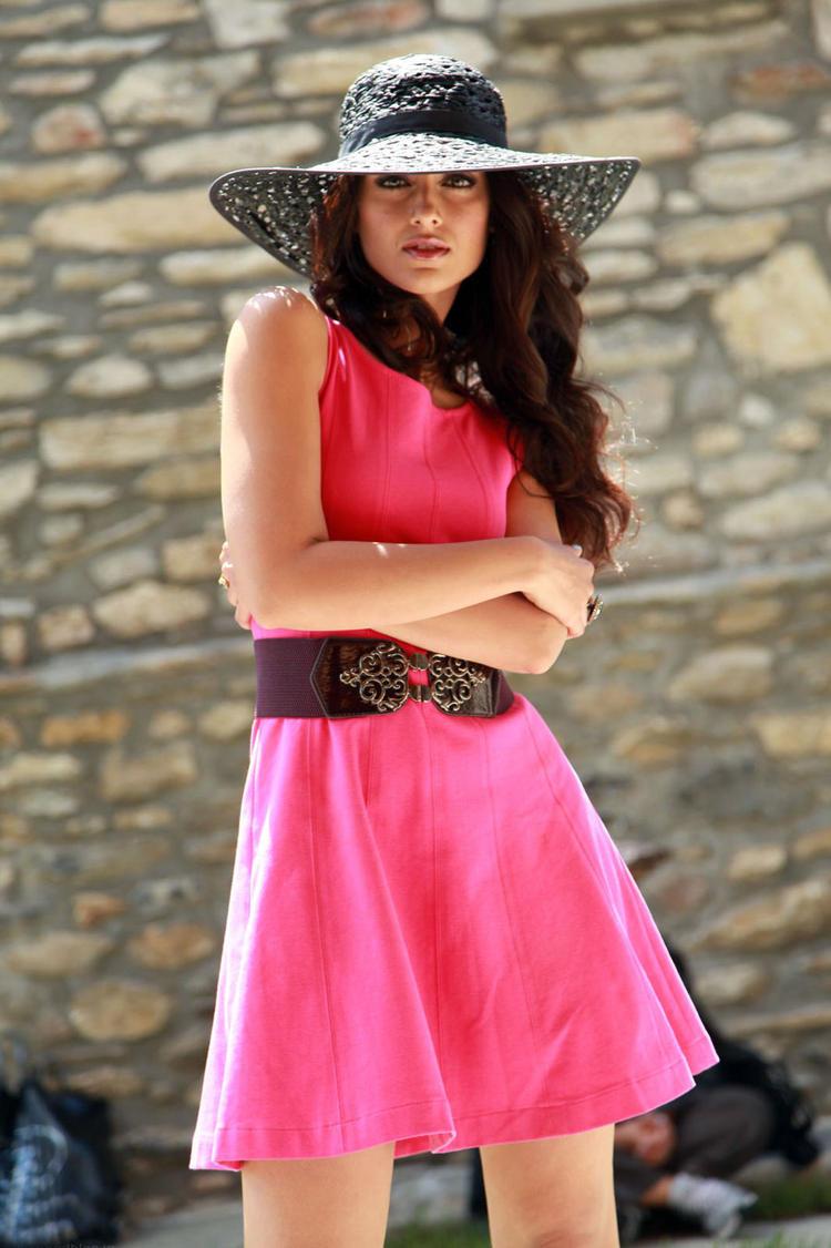 Ileana D'Cruz Fashionable Look In Hat Still