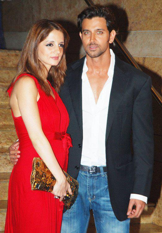 Hrithik Roshan  Suzanne Khan  Bollywood  Hollywood Gupshup