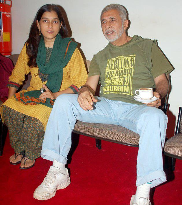 Naseeruddin Shah and Ratna Pathak Photo