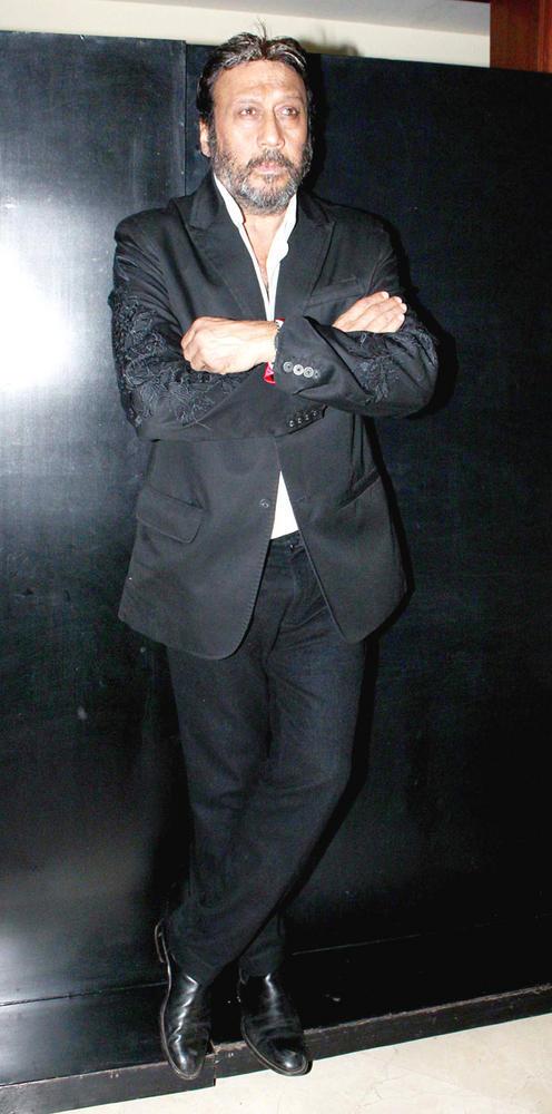 Jackie Spotted At 25th Anniversary Bash Of Shashi And Anu Ranjan