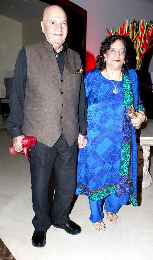 Prem And Wife Attends 25th Anniversary Bash Of Shashi And Anu Ranjan