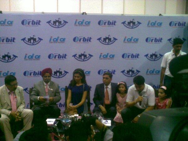 Deepika Padukone At The Press Conferfence Of World Dental Show