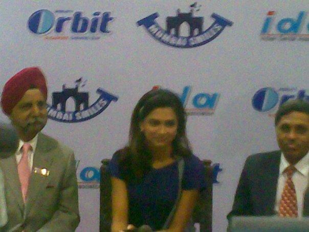Deepika Padukone World Dental Show Event Conference