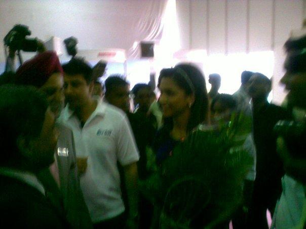 Deepika Padukone At World Dental Show Event