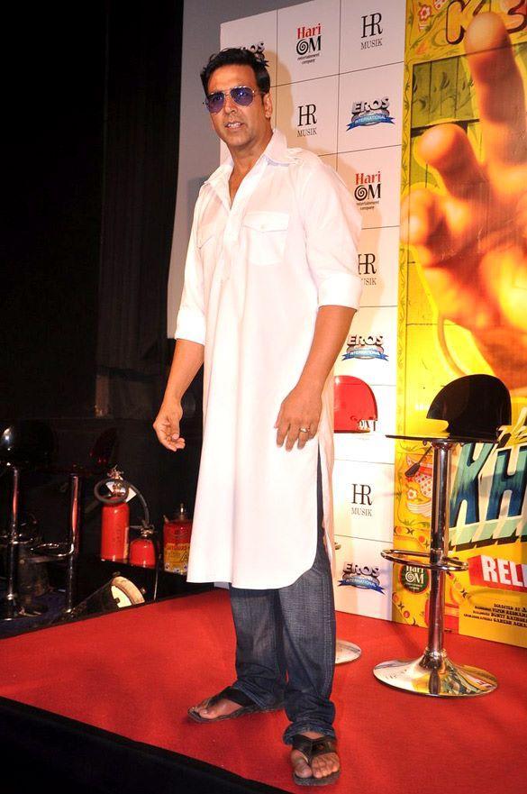 Akshay Spotted At Khiladi 786 Trailer Promo Launch