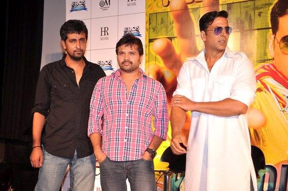 Akshay,Himesh And Ashish At Promo Launch Of Khiladi 786 Movie