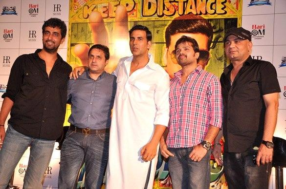 Akshay,Himesh,Ashish And Sunil At Khiladi 786 Trailer Promo Launch
