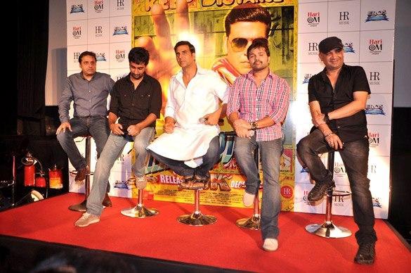 Akshay,Himesh,Ashish And Sunil At Promo Launch Of Khiladi 786