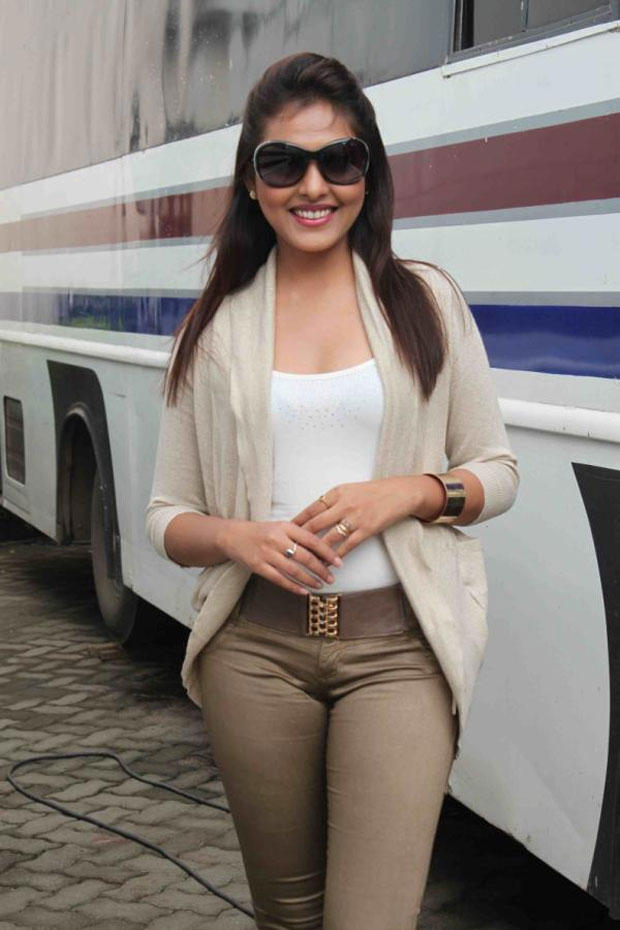 Madhu Shalini Spotted at Mumbai For Bhoot Returns Movie Promotion