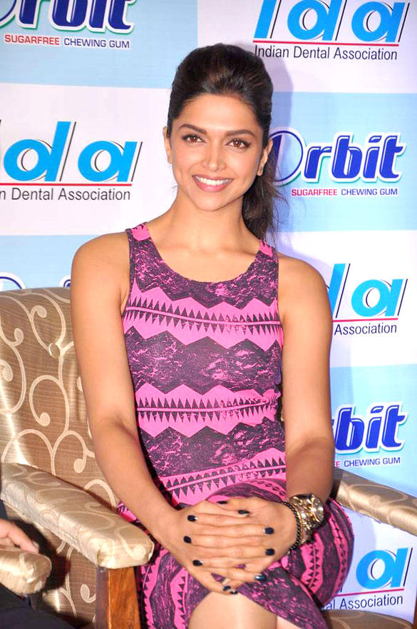 Deepika Padukone at IDA-Orbit 2012 Press Meet