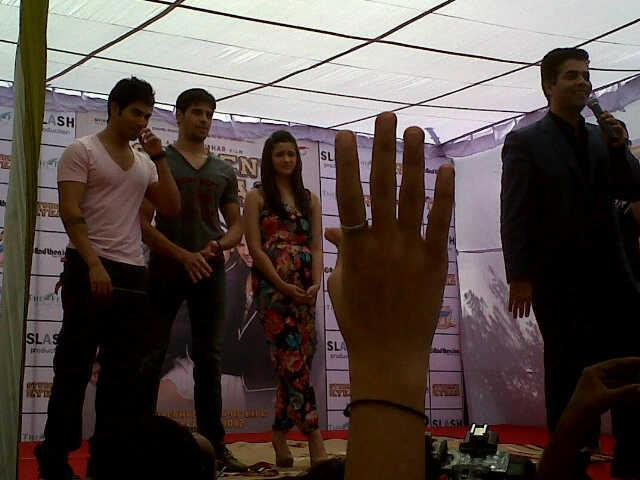 Cast Promote Their Upcoming Film Student of The Year In Jaipur