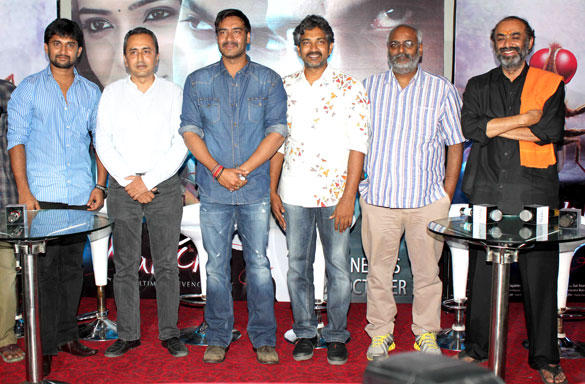 Ajay And Others At The Special Screening Of Makkhi Movie
